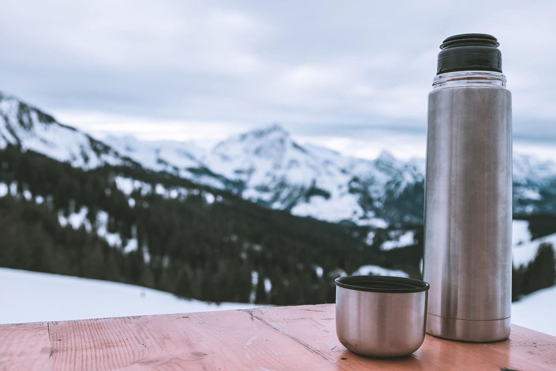 Ein Schlückchen Tee inklusive Panorama - unbezahlbar!